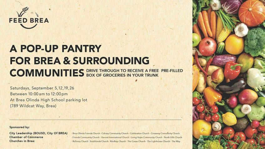 Feed Brea - Pop-up Food Pantry