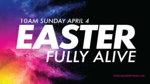 Easter Sunday Event
